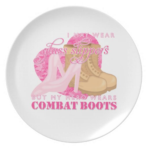 Glass Slippers and Combat Boots Plate