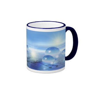 Glass Spheres Ringer Mug