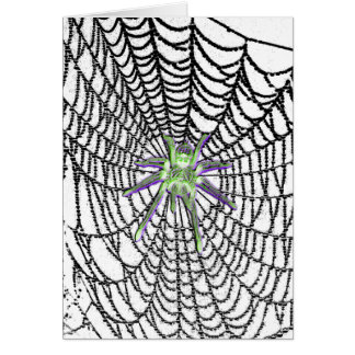 Glass Spider Gothic card