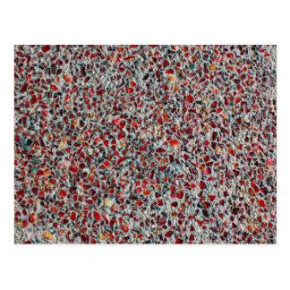 glass sprinkles photo postcard