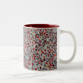 glass sprinkles photo Two-Tone coffee mug