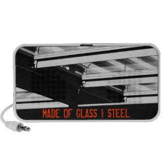 Glass & Steel Doodle Speaker