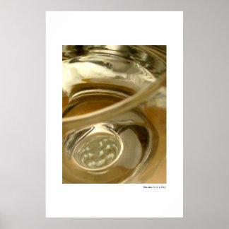 Glass Study, No. 11 Poster