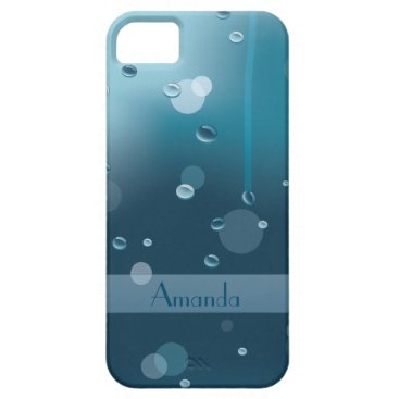 all_summer_products Glass Surface with Water Drops iphone 5/5S cases
