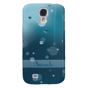 all_summer_products Glass Surface with Water Drops Samsung Galaxy S4 Samsung Galaxy S4 Cover