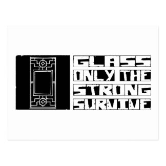 Glass Survive Postcard