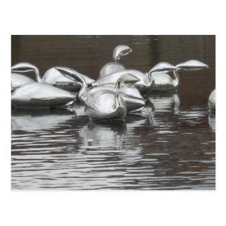 Glass Swimmers Postcard
