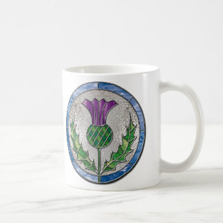 Glass Thistle Coffee Mug