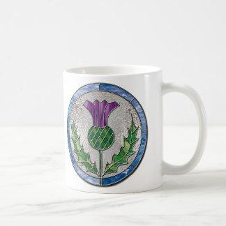 Glass Thistle Mugs