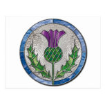 Glass Thistle Post Cards
