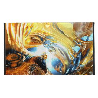 Glass Tidal Wave Abstract iPad Folio Covers