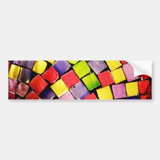 Glass Tiles II Bumper Sticker