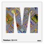 Glass Tiles Mosaics Alphabet Classroom Wall Decals