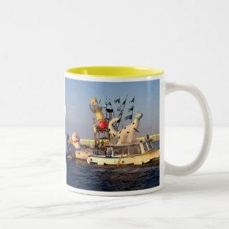 glass Two-Tone coffee mug