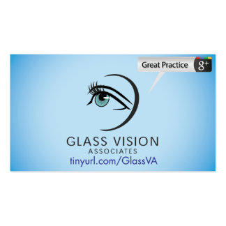 Glass Vision Associates Double-Sided Standard Business Cards (Pack Of 100)
