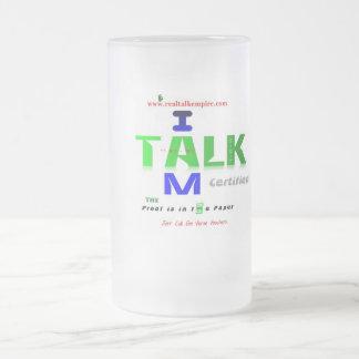 glass - voucher 16 oz frosted glass beer mug