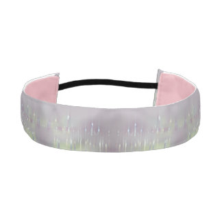 GLASS WASH VENICE Pastels Soft Romantic Abstract - Athletic Headband