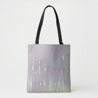 GLASS WASH VENICE Pastels Soft Romantic Abstract Tote Bag