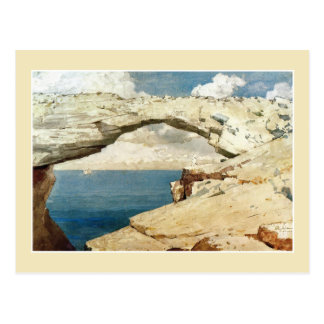 Glass Window Bahamas by Winslow Homer Postcards