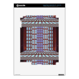 Glass windows from modern architecture elegant fun skins for iPad 3