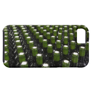 Glass wine bottles in a wine bottling factory. iPhone SE/5/5s case