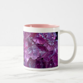 Glass Wonders with Rock Candy Two-Tone Coffee Mug