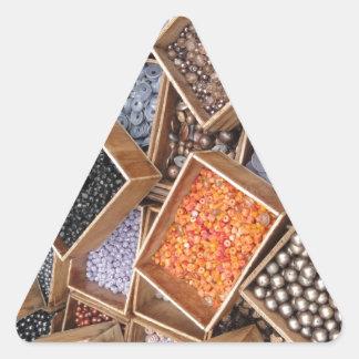 glassbeads2.JPG Triangle Sticker