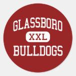 Glassboro - Bulldogs - High - Glassboro New Jersey Round Stickers