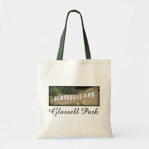 Glassellland Sign in Glassell Park, California Budget Tote Bag