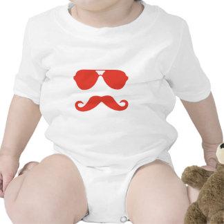 Glasses and Mustache Bodysuit