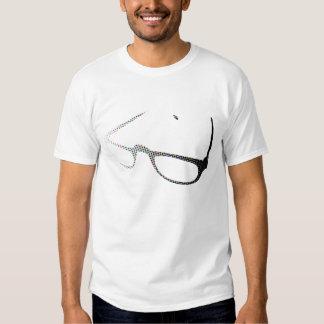 glasses colorful dots tee shirts
