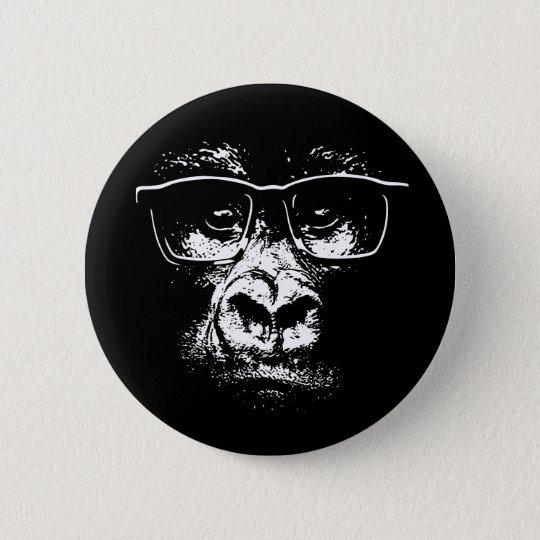 Glasses Gorilla Button