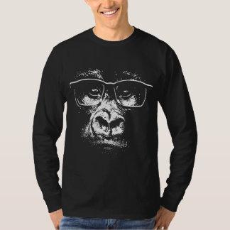 Glasses Gorilla T Shirt