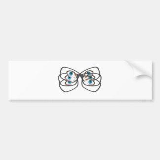 Glasses Image Bumper Sticker