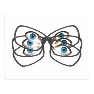 Glasses Image Postcard