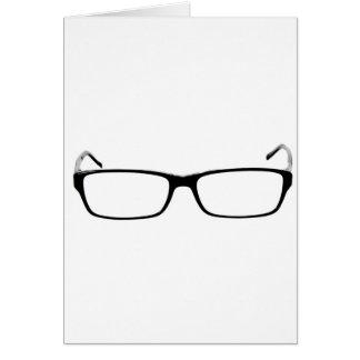 Glasses - Nerd Card