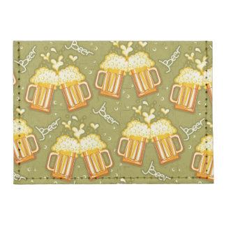 Glasses Of Beer Pattern Card Wallet