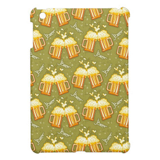Glasses Of Beer Pattern Cover For The iPad Mini