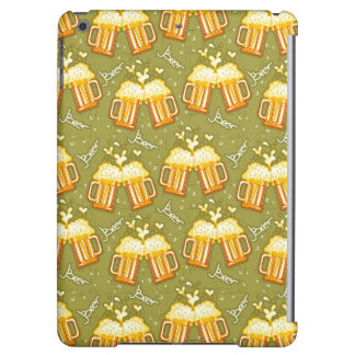 Glasses Of Beer Pattern iPad Air Covers