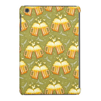 Glasses Of Beer Pattern iPad Mini Covers