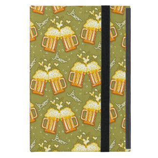 Glasses Of Beer Pattern iPad Mini Covers