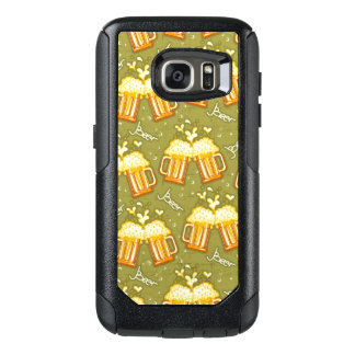 Glasses Of Beer Pattern OtterBox Samsung Galaxy S7 Case