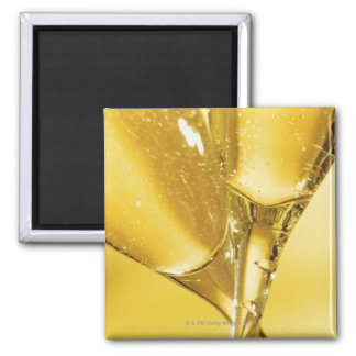 Glasses of Champagne Refrigerator Magnet