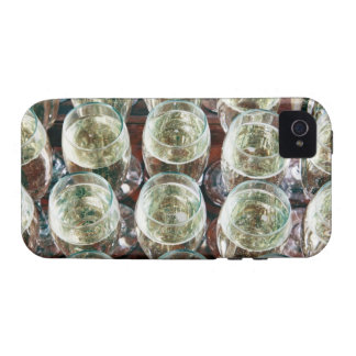 Glasses of Champagne on a table at a celebration Case-Mate iPhone 4 Case