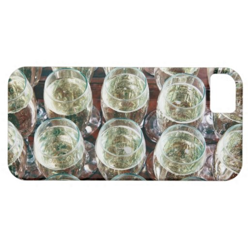Glasses of Champagne on a table at a celebration iPhone SE/5/5s Case