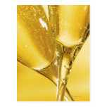 Glasses of Champagne Post Card