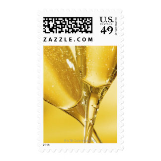 Glasses of Champagne Stamps