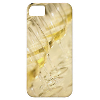 Glasses of white wine for wine tasting, close up iPhone SE/5/5s case