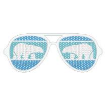 Glasses Polar Bear Swim