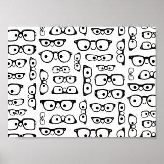 Glasses Poster